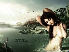 photoshop拼图场景圣之泉-超现实主义