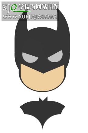 纯CSS3实现的蝙蝠侠动画效果
