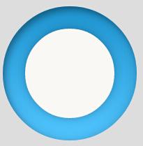 CSS制作凹圆环特效