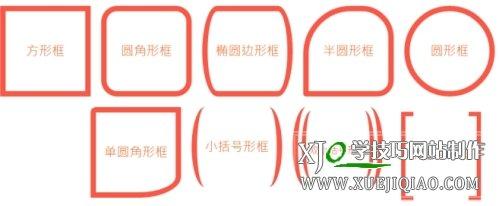 CSS的div块各种边框样式定义